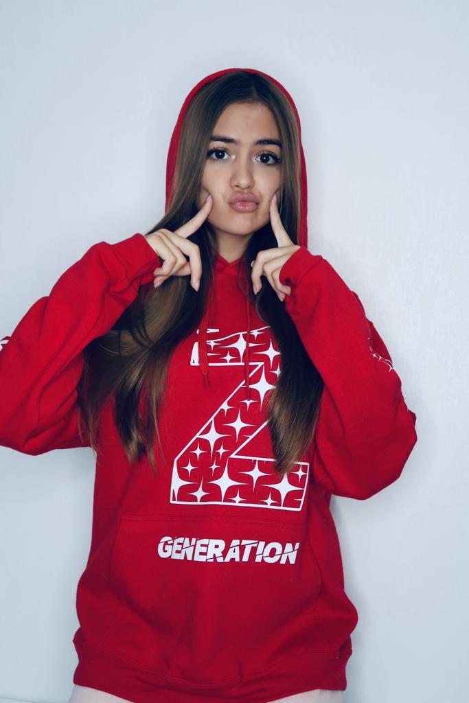 HANORAC RED Z GENERATION STARS CU GLITTER