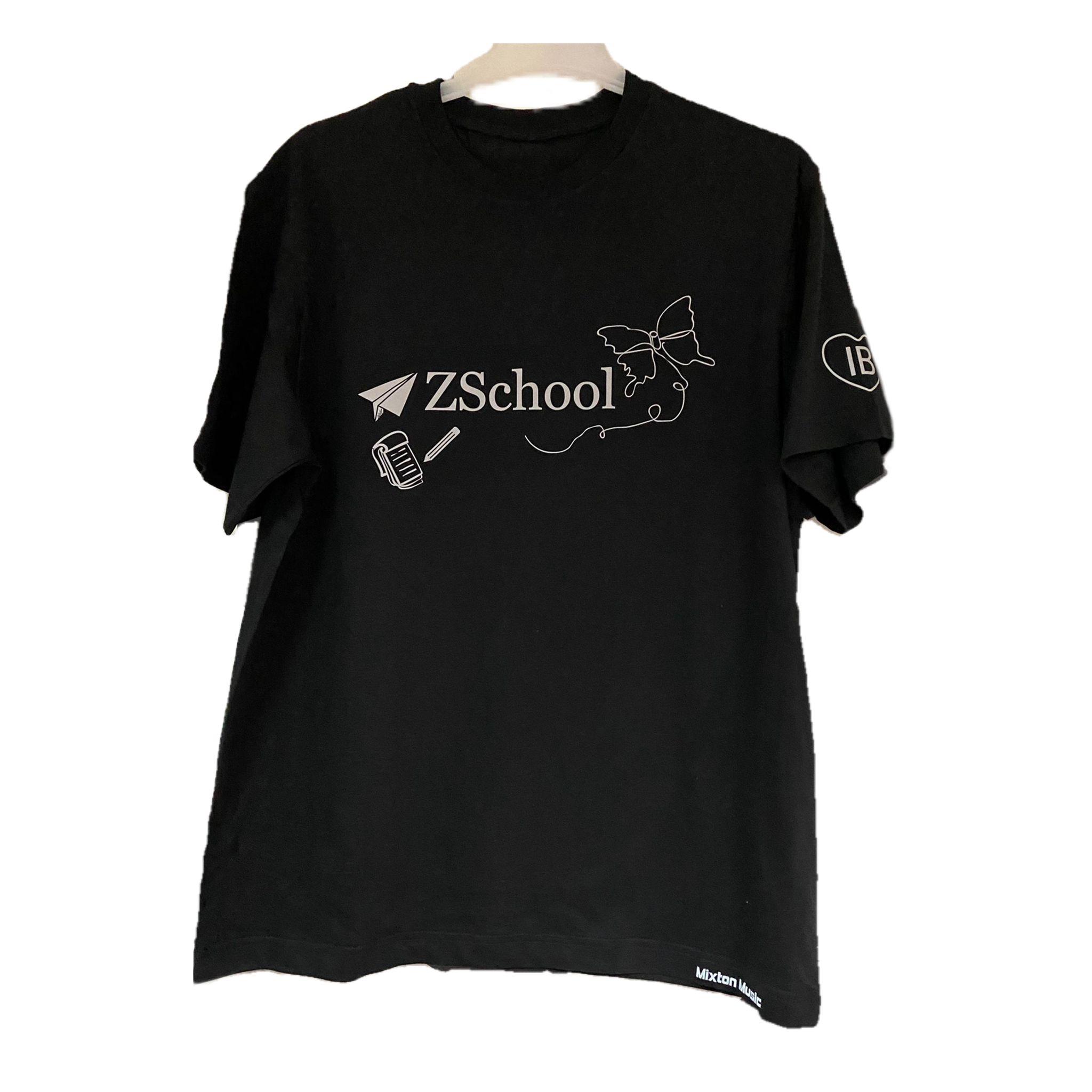 Tricou Z School Negru cu Efect Magic la Blitz